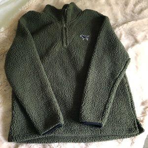 VS Pink Fleece Pullover